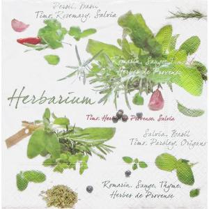 イタリア Easy Life 旧NUOVA R2S社 ペーパーナプキン Lunch napkins ハーバリウム Herbarium バラ売り2枚1セット 414-HRR デコパージュ ドリパージュ|ccpopo