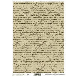 ポーランド ITD Collection スクラップブッキング用ヴェラム紙 半透明 1枚 A4 厚手 曲げ加工可能 作品販売可能 112g/m2 P0003 手書き文字の壁紙|ccpopo