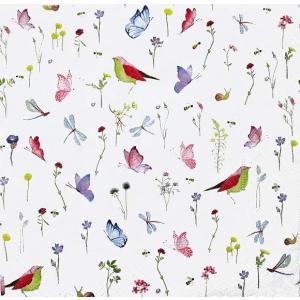 1枚バラ売りペーパーナプキン Paper+Design ドイツ Artablo 牧草地の歌声 Harmony meadow AT005 デコパージュ ドリパージュ ccpopo