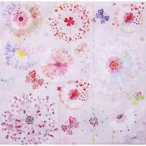 1枚バラ売りペーパーナプキン Paper+Design ドイツ Artablo タンポポ Primavera dandelions AT007 デコパージュ ドリパージュ ccpopo