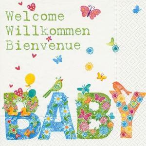 Paper+Design ドイツ ペーパーナプキン Baby バラ売り2枚1セット L-200055 デコパージュ ドリパージュ|ccpopo