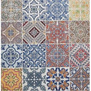 Paper+Design ドイツ ペーパーナプキン Lunch napkins Tiles バラ売り2枚1セット L-200264 デコパージュ