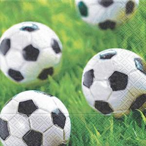 Paper+Design ドイツ ペーパーナプキン サッカー Go for goal バラ売り2枚1セット L-21201 デコパージュ ドリパージュ|ccpopo