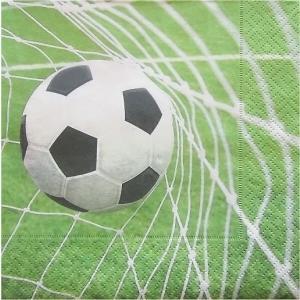 Paper+Design ドイツ ペーパーナプキン サッカー Special goal バラ売り2枚1セット L-27058 デコパージュ ドリパージュ|ccpopo