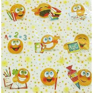 Paper+Design ドイツ ペーパーナプキン School fun バラ売り2枚1セット L-27068 デコパージュ ドリパージュ|ccpopo