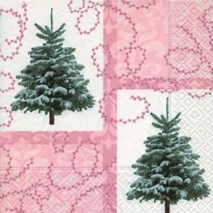 ドイツ製ペーパーナプキン クリスマスツリー バラ売り2枚1セット L-60879