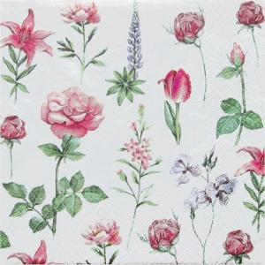 Paw パウ ポーランド ペーパーナプキン ランチサイズ Boons of Garden バラ売り2枚1セット SDL-092800 デコパージュ ドリパージュ|ccpopo