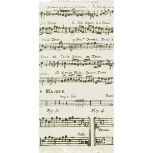 sniff ドイツ ポケットペーパーナプキン 紙ナフキン 紙ハンカチ 音楽 音符 譜面 楽譜 Adagio 21cm角 2枚1セット ccpopo