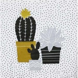 PPD ドイツ ペーパーナプキン Lunch napkins サボテン Cactus バラ売り2枚1セット L-133-2124 デコパージュ ドリパージュ