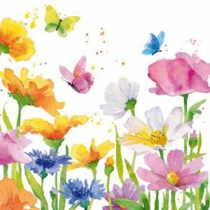 PPD ドイツ ペーパーナプキン Lunch napkins ハッピースプリング 春 Happy Spring バラ売り2枚1セット L-133-2783 デコパージュ ドリパージュ|ccpopo