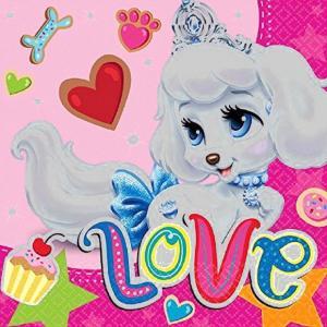 1枚バラ売りペーパーナプキン ディズニープリンセス パレスペット Palace Pets アメリカ製 MADE IN USA 紙ナフキン デコパージュ ドリパージュ|ccpopo
