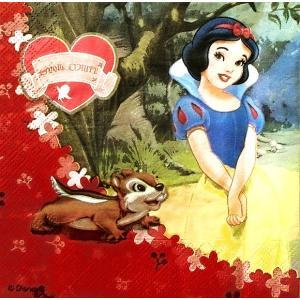 1枚バラ売りペーパーナプキン ディズニー Disney 白雪姫 SNOW WHITE ディズニープリンセス デコパージュ ドリパージュ 5201184049877|ccpopo