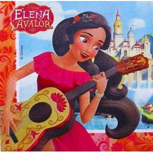 1枚バラ売りペーパーナプキン ディズニー Disney アバローのプリンセス エレナ デコパージュ ドリパージュ|ccpopo