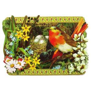 廃版レア 在庫限り Punch Studio パンチスタジオ 春のグリーティングカード 封筒付 ダイカット イースターカード The Nest Spring Cards|ccpopo