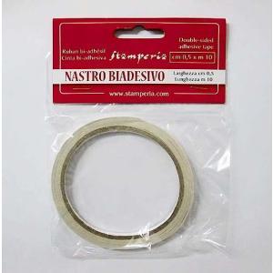 スタンペリア Stamperia 両面テープ 貼り付け用両面接着テープ SBA376 0.5cm×10M|ccpopo