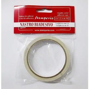 スタンペリア Stamperia 両面テープ 貼り付け用両面接着テープ SBA377 1.5cm×10M|ccpopo