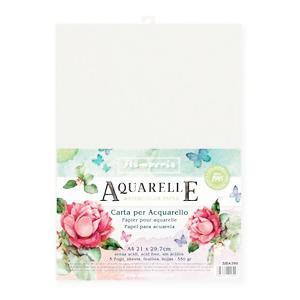 スタンペリア Stamperia イタリア 水彩紙 A4 5枚セット Aquarelle Paper Pack, 5 Sheets SBA390 2019秋冬|ccpopo