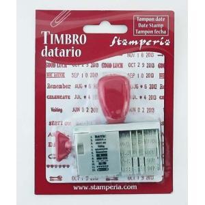 スタンペリア Stamperia デートスタンプ Date Stamp SBA92 正規輸入品|ccpopo