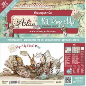 スタンペリア Stamperia ポップアップキット Pop up kit 不思議の国のアリス アリス ティーパーティー Alice tea party SBPOP01 ccpopo