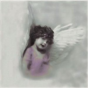 Sagen Vintage Design ノルウェー ペーパーナプキン Cute Angel Girl 2056 バラ売り2枚1セット デコパージュ ドリパージュ|ccpopo