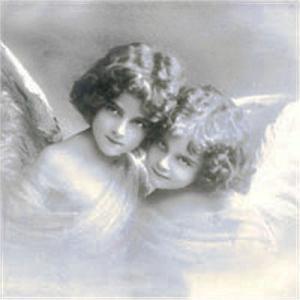 Sagen Vintage Design ノルウェー ペーパーナプキン Sweet angels 2062 バラ売り2枚1セット デコパージュ ドリパージュ|ccpopo