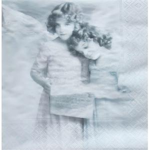 Sagen Vintage Design ノルウェー ペーパーナプキン Angels reading 2080 バラ売り2枚1セット デコパージュ ドリパージュ|ccpopo