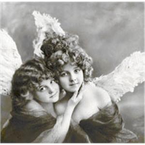 Sagen Vintage Design ノルウェー ペーパーナプキン Vintage Angels 80004 バラ売り2枚1セット デコパージュ ドリパージュ|ccpopo