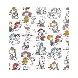 1枚バラ売りペーパーナプキン スヌーピーBHデザインペーパー ペーパーナプキン 紙ナフキン 日本製 SNOOPY peanuts 30x30cm デコパージュ ドリパージュ|ccpopo