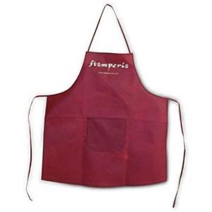 スタンペリア Stamperia イタリア 公式グッズ 作業用エプロン Apron 赤 red|ccpopo