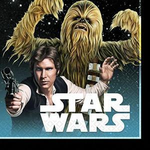 1枚バラ売り25cmペーパーナプキン スターウォーズ Star Wars Classic アメリカ製 MADE IN USA 2枚重ね 紙コースター デコパージュ ドリパージュ 501753|ccpopo