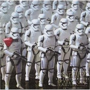 1枚バラ売りペーパーナプキン スターウォーズ Star Wars フォースの覚醒 THE FORCE AWAKENS 紙ナフキン デコパージュ ドリパージュ 7122263|ccpopo