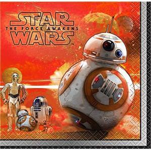 1枚バラ売り25cmペーパーナプキン 映画スターウォーズ STAR WARS BB-8 R2-D2 C-3PO 2枚重ね 紙コースター デコパージュ ドリパージュ 48561|ccpopo