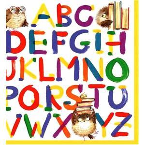 ti-flair ドイツ製ペーパーナプキン カラフルアルファベット Colourful Alphabet 371691 バラ売り2枚1セット デコパージュ ドリパージュ|ccpopo