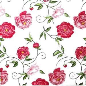 ti-flair ドイツ製ペーパーナプキン 牡丹 花 ピンク Peony pink 375370 バラ売り2枚1セット デコパージュ ドリパージュ|ccpopo