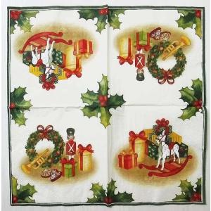 1枚バラ売りペーパーナプキン Villeroy&Boch ビレロイ&ボッホ ドイツ クリスマスプレゼント  802200 デコパージュ ドリパージュ|ccpopo