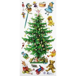 バイオレットステッカー シール クリスマスツリー 1シート Violette Stickers|ccpopo