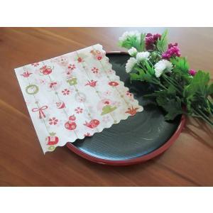 和柄 日本製 ペーパーナプキン めでた飾り バラ売り2枚1セット デコパージュ ドリパージュ|ccpopo