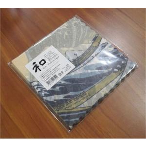 新品未開封1パック20枚 和柄 日本製 ペーパーナプキン 葛飾北斎 神奈川沖浪裏 浮世絵 富嶽三十六景 食品包装可|ccpopo