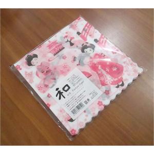 新品未開封1パック20枚 和柄 日本製 ペーパーナプキン 舞妓さん 食品包装可|ccpopo