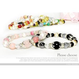 パワーストーン ブレスレット 色で選ぶ 幸運 ブレス 10種類 天然石|ccr|04