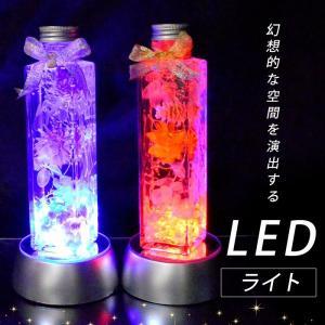 LEDライト (台サイズ直径約75mm) 単四電池3個付きLEDランプ 癒し インテリア ハーバリウム 置き物 天然石 パワーストーン【ゆうパケット不可】