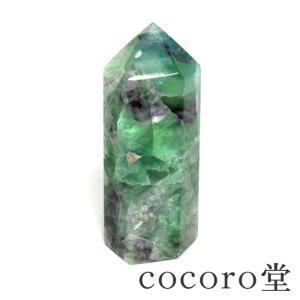 パワーストーン 置物 ポイント フローライト 天然石|ccr