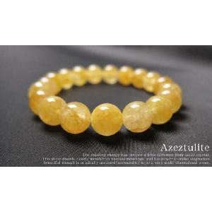 パワーストーン ブレスレット ヒマラヤ ゴールド アゼツライト 天然石|ccr