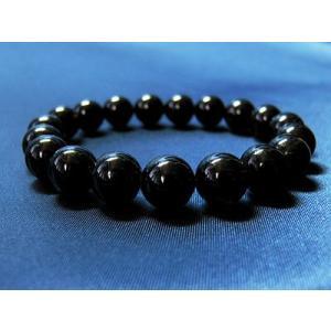 パワーストーン ブレスレット  黒水晶 天然石 ccr