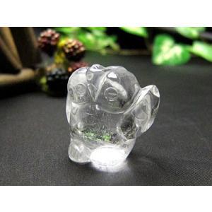 単品販売水晶 ふくろう -健康・安全- 置物 ふくろう 置物風水 グッズ フクロウ ゆうパケット不可 ccr