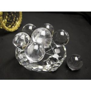 パワーストーン 置物 七星盤 小 専用丸玉付き 風水 水晶 天然石|ccr