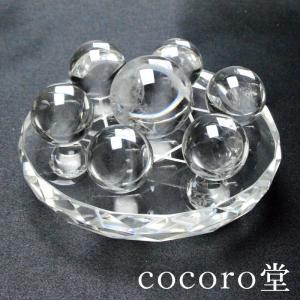 パワーストーン 置物 七星盤 大 専用丸玉付き 風水 水晶 天然石|ccr