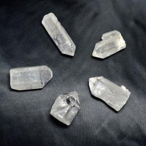 パワーストーン クリスタルチューナー 音叉 説明書 ポーチ 水晶 ポイント セット 天然石|ccr|05