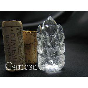 パワーストーン 置物 ガネーシャ ヒマラヤ 水晶 天然石
