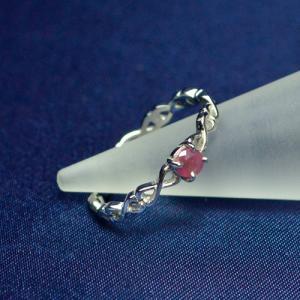 ルビー リング 指輪 シルバー925(プラチナロジウムコーディング) パワーストーン 天然石 ccr